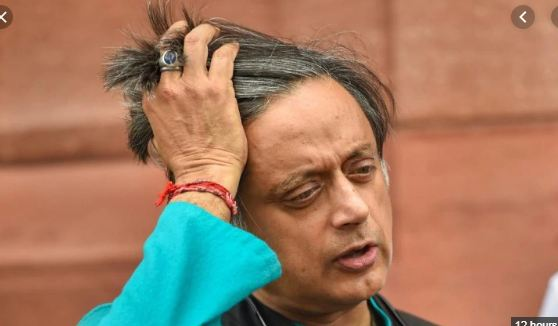 The complainant has alleged that a section of Mr Tharoor's book, 'The Great Indian Novel', is defamatory to 'Nair' women.