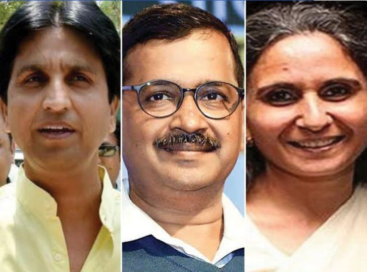 Congress,BJP,CMKejriwal ,Congress and BJP continue to fight against CM Kejriwal,