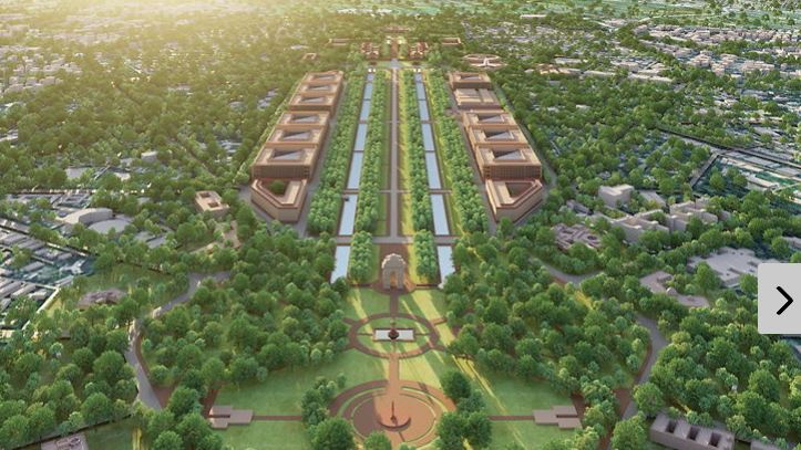 master plan of Delhi / New Parliament House will be built ...