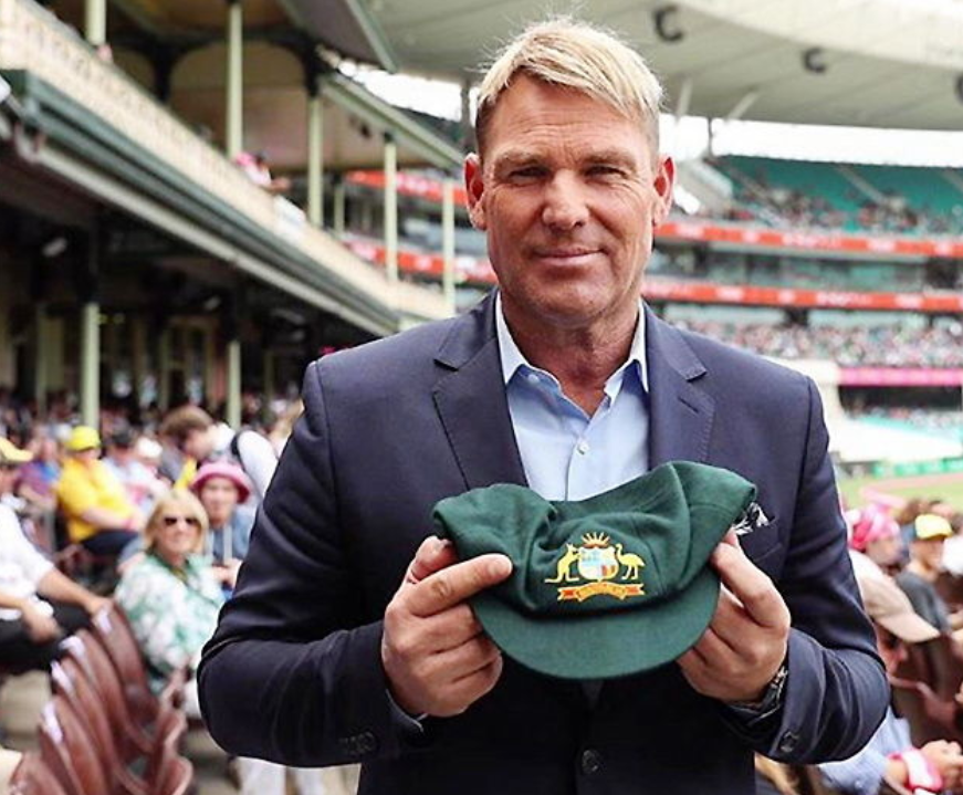 Spin legend Shane Warne Auction His Baggy Green Cap to Raise Funds for Australia Bushfire Victims