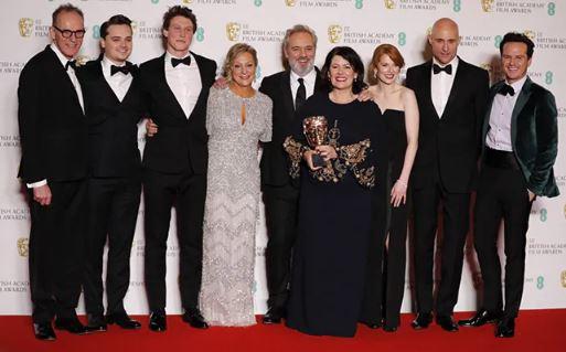 BAFTAs 2020 Sam Mendes 1917 Is Big Winner