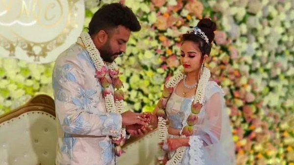 Chandan Shetty and Nivedita gowda marriage pics