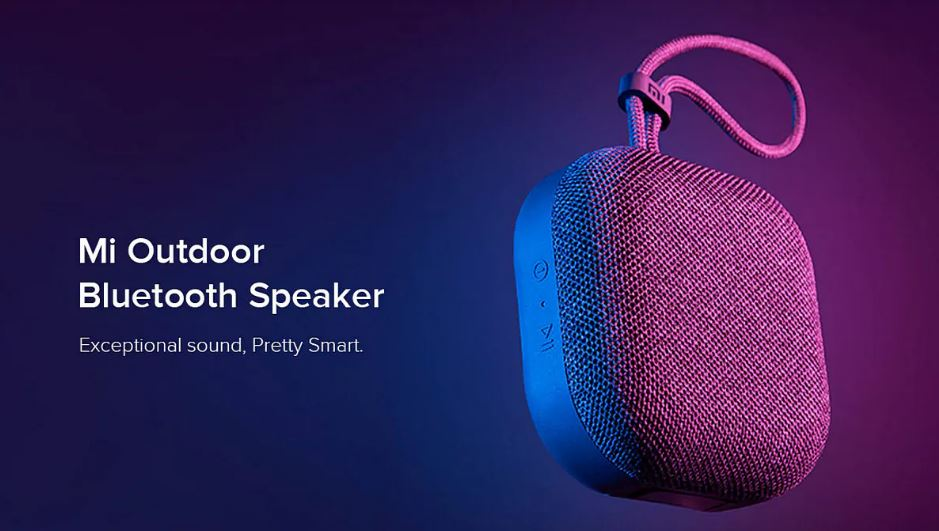 Xiaomi Mi Outdoor Bluetooth Speaker With IPX5 Water Resistance Launched in India at Rs. 1,399
