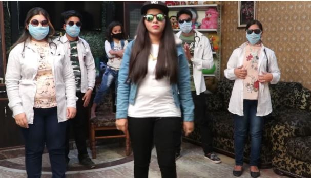 Dhinchak Pooja tells you Kaise Na Hoga Corona in new song. This is all you need to stay at home