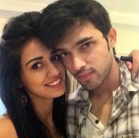 Disha patani and ex boyfriend Parth samthan