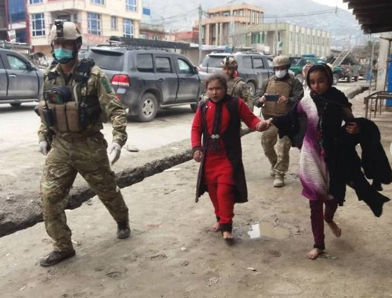 Fidayeen attack on gurdwara in Afghanistan Kabul, number of devotees killed 11 Security forces took over