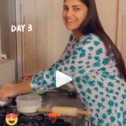 Himanshi Khurana's roti making no make up video goes viral