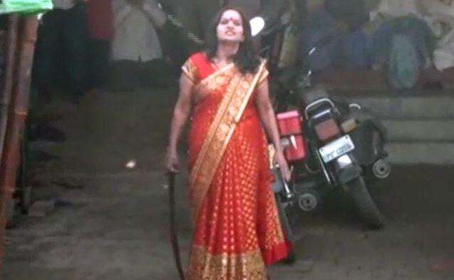 Sword-Waving Godwoman Dares Uttar Pradesh Police Amid Coronavirus Lockdown, Arrested