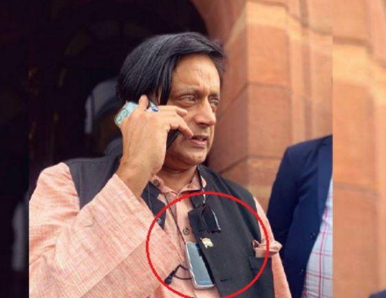 Tharoor using portable air purifiers, said-Delhi air is not breathable