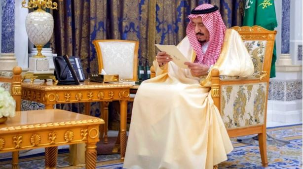 Saudi Arabia State media releases photos of King Salman after rumours of death