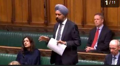 britain parliament criticises modi over delhi violence