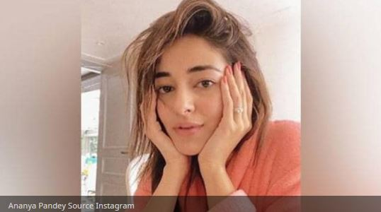 Ananya Pandey shares a no makeup look, Arjun did this comment - Ananya pandey cl