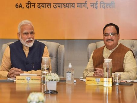 BJP's foundation day today, many leaders including PM Modi, Amit Shah congratulated