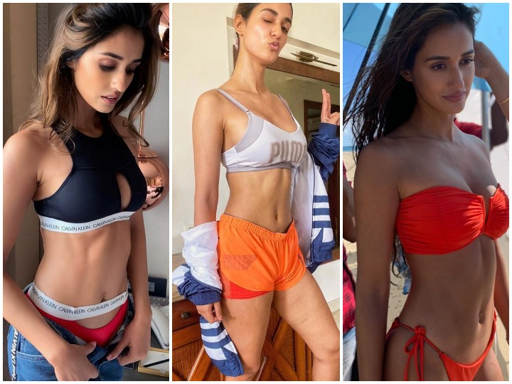 Disha Patani flaunts her hot body after workouts, Have a look