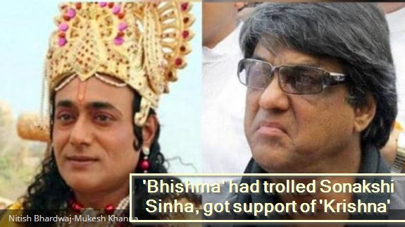 Face to face on Ramayana, 'Bhishma' gave Sonakshi Sinha troll, 'Krishna' got supFace to face on Ramayana, 'Bhishma' gave Sonakshi Sinha troll, 'Krishna' got sup