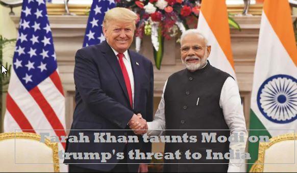 Farah Khan Reaction On Donald Trump Warning To India Says Modi Needs to Reconsider his friendship