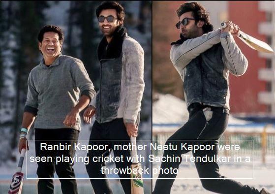 Neetu Singh Shares Throwback Photos Of Son Ranbir Kapoor And Indian Cricketer Sa