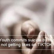 Noida - Youth commits suicide by hanging fan after not getting likes on TIKTOK video