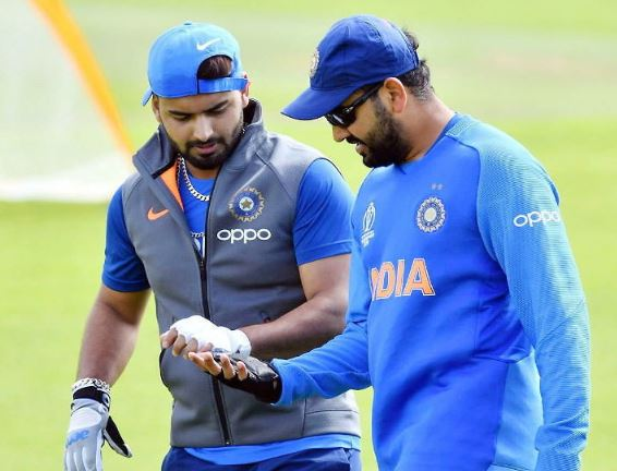 On the challenge of Rishabh Pant for six, Rohit said - It has not been a year yet and challenging me