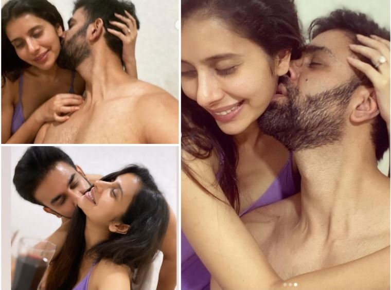 Sexy Charu Asopa, Rajeev Sen get cozy at home in lockdown, pictures are going viral