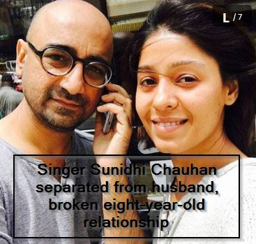Singer Sunidhi Chauhan separated from husband, broken eight-year-old relationship