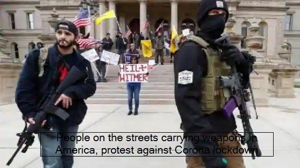 US Public Protest in Minnesota Michigan Virginia Against Lockdown As Coronavirus