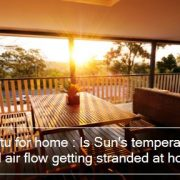 Vastu for home - Is Sun's temperature and air flow getting stranded at home