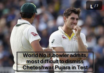 World No.1 bowler admits, most difficult to dismiss Cheteshwar Pujara in Test