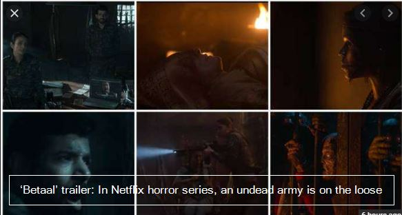 'Betaal' trailer- In Netflix horror series, an undead army is on the loose