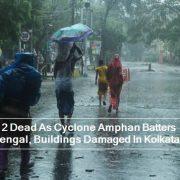 12 Dead As Cyclone Amphan Batters Bengal, Buildings Damaged In Kolkata