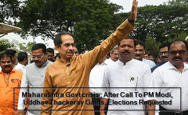 After Call To PM Narendra Modi, Uddhav Thackeray Gains, Elections Requested