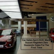 Car Sales April 2020- Maruti Suzuki Registers Zero Domestic Sales For The First Time