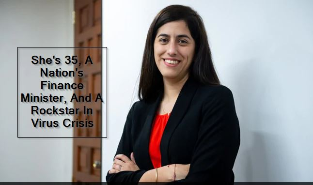 Coronavirus -Maria Antonieta Alva_ She's 35, A Nation's Finance Minister, And A