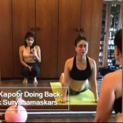 Kareena Kapoor Doing Back-To Back Suryanamaskars In Throwback Video Is The Yoga