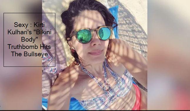 Kirti Kulhari's _Bikini Body_ Truthbomb Hits The Bullseye