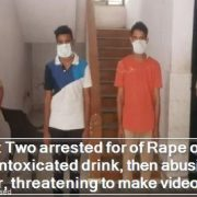 Noida- Two arrested for of Rape of minor using intoxicated drink, then abusing for a year, threatening to make video viral