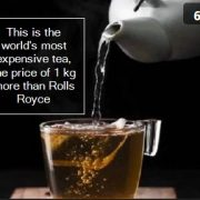 This is the world's most expensive tea, the price of 1 kg more than Rolls Royce