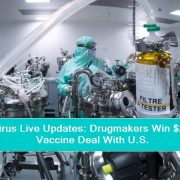 Coronavirus Live Updates - Drugmakers Win $2.1 Billion Vaccine Deal With U.S.