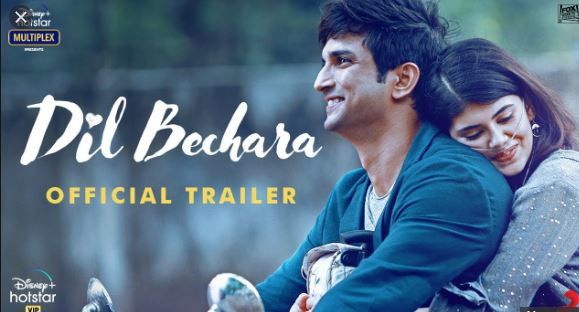 Dil Bechara Trailer - Love story battling between love and death, trailer release of Sushant's last film