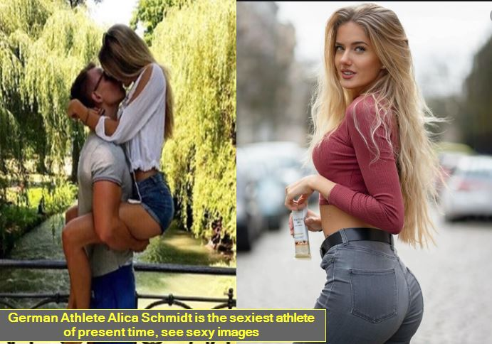 German Athlete Alica Schmidt is the sexiest athlete of present time, see sexy images