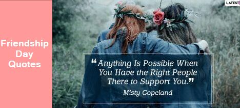 Happy Friendship Day 2020 Quotes and Poems - Here are some quotes and poems to make your friend feel special on this day