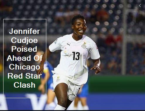 Jennifer Cudjoe Poised Ahead Of Chicago Red Star Clash