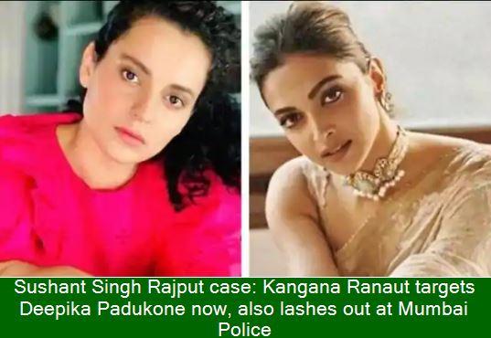 Kangana Ranaut_ takes a jibe at Deepika Padukone_ over depression in Sushant Sin