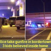 Texas police take gunfire in bordertown standoff; 3 kids believed inside home_ r