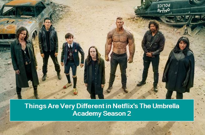 Things Are Very Different in Netflix's The Umbrella Academy Season 2
