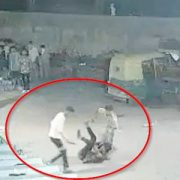 Viral murder Video - Man murdered by stabbing 70 times, captured in CCTV