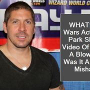 WHAT! Star Wars Actor Ray Park Shares Video Of Getting A Blow Job; Was It A HUGE Mishap