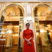 World's first hotel made of 'Gold' in Vietnam Dolce Hanoi Golden Lake Hotel