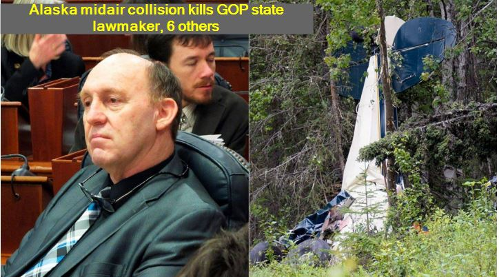 Alaska midair collision kills GOP state lawmaker, 6 others Gary Knopp