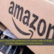 Amazon launches pharmacy for online sale of drugs in India, Bengaluru to start service